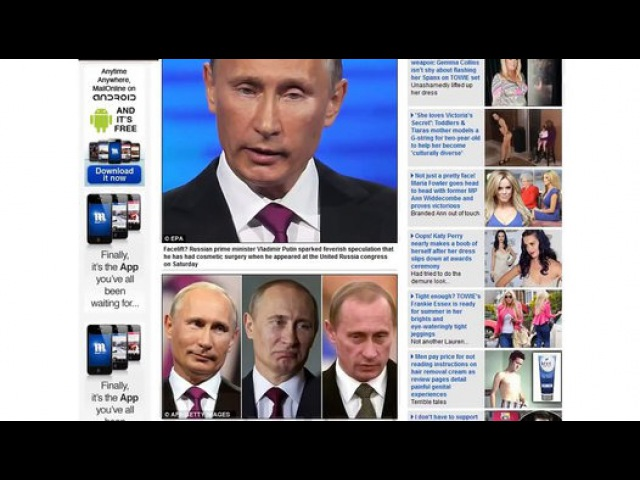 Путина нет! Не веришь Смотри! Putin does not exist! Do not believe me Look ! - Видео Dailymotion