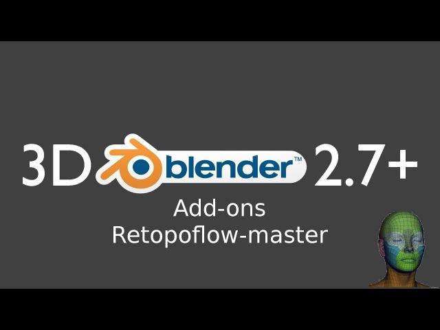 Blender 2.77 Add-ons Retopoflow-master