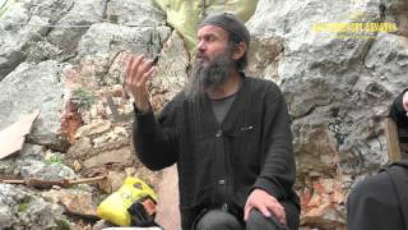 Невидимая брань видимая Афонский отшельник Георгий