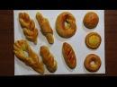 Поделки из соленого теста своими руками. Угощение для кукол. Видео урок для детей 3-6 лет