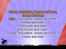 Karaoke for kids - Head, shoulders, knees and toes - with backing melody ( )