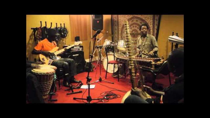 Bafoulabe The Band - reharsal session