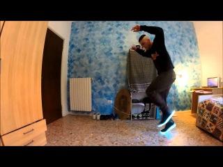 cutting shapes | house shuffle | led shoes session 2