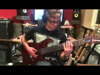 Acrania - Susceptible To Retinal Based Reprogrammability (GUITAR COVER) - Ben Sutherland