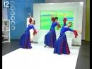 """В гостях у """"Нового утра"""" шоу-балет """"Карамель"""" с танцем фламенко"""