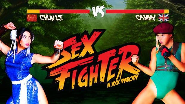 WOW Sex Fighter: Chun Li vs. Cammy (XXX Parody) # 1