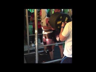 Squat 260 kg . Vlad Nikolaiko. King fit . Krasnodar.