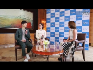 [160408] ViuTv Interview - Song Joongki & Song Hye Kyo