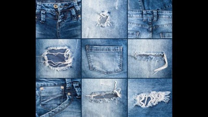 Что можно сделать из старых джинс! Коврик, юбка, сумка, шорты Beautiful Ideas !