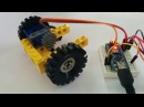 Servo-motor converted to motor (with speed direction control)