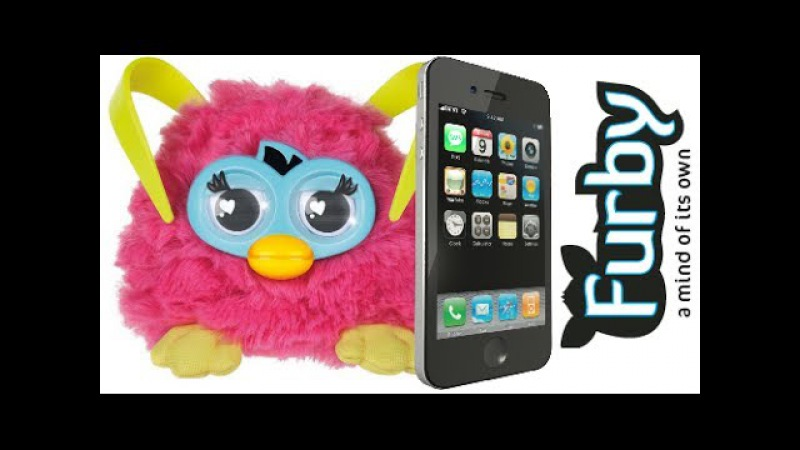 Furby Party Rocker (2013, Hasbro) - Furby App Test
