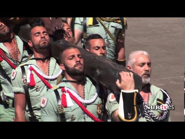 Legionarios cantando El Novio de la Muerte - Semana Santa de Málaga 2016