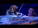 Yoshiki (piano) and Sugizo (violin) intro to Kurenai live at Tokyo Domo.