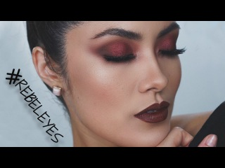 Metallic Grunge Makeup Look | Melissa Alatorre