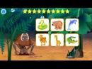 Лунтик Учим Английский язык - Животные на английском Развивающий Мультик Игра для детей Like BebyTV