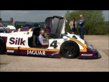 Jaguar XJR9 Silk Cut Le Mans Winning Car with Justin Law - Loud Revs and Exhaust