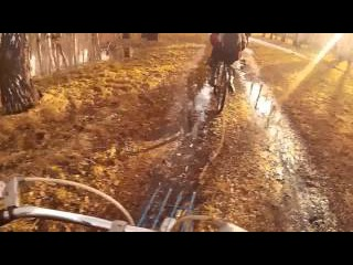 Вело-поход   Первая поломка в этом сезоне