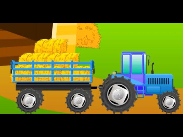 Мультик про трактор. Веселая ферма игра. Смотреть мультики про трактор и машинки для детей. » Freewka.com - Смотреть онлайн в хорощем качестве