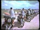 Подготовка мотоциклистов спец. батальона в СССР. Уникальное видео. Часть 1