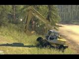 Spin Tires - Dev Demo - Fiat Hitachi FH 200