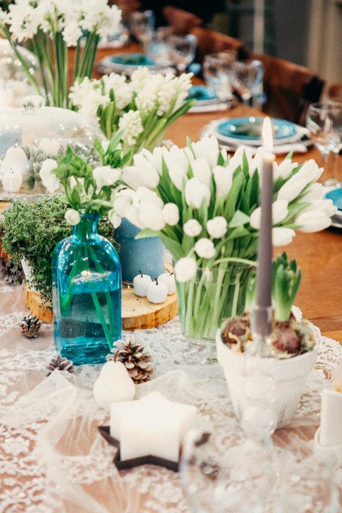 тюльпаны в декоре свадьбы