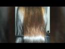 Елена до и после ботокса волос