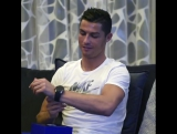 What a special day! Feeling so fortunate to receive this lovely gift from Cristiano. So grateful to be the inspiration behind th