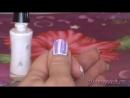 Видео урок 10. Рисунок на ногтях иголкой Апрель