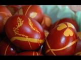 Как покрасить пасхальные яйца (крашенки)׃ классический способ и мраморный рисунок