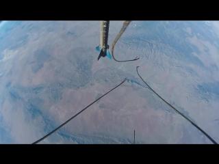 GoPro камера на ракете + видео полета