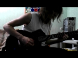 dragonforce through the fire and flames(cover)