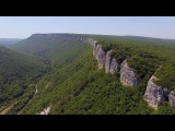 Мангуп-кале, Крым  Mangup-Kale, Crimea  Аэросъемка