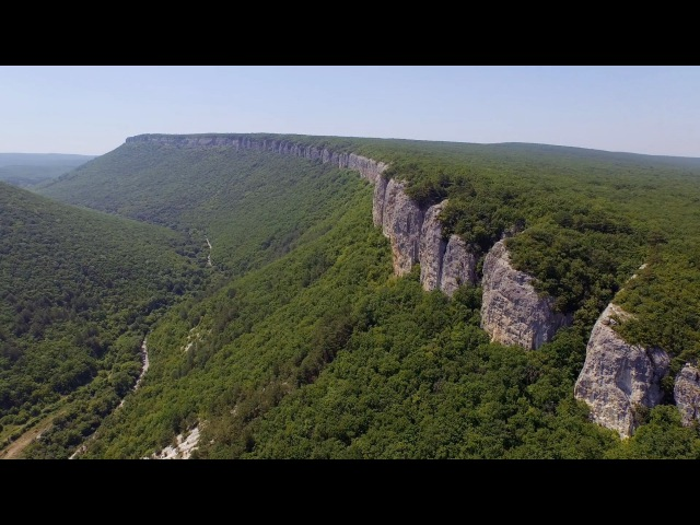Мангуп-кале, Крым / Mangup-Kale, Crimea / Аэросъемка