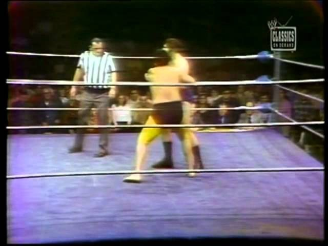 BRUNO SAMMARTINO VS. MR. FUJI -WWWF TV 1974