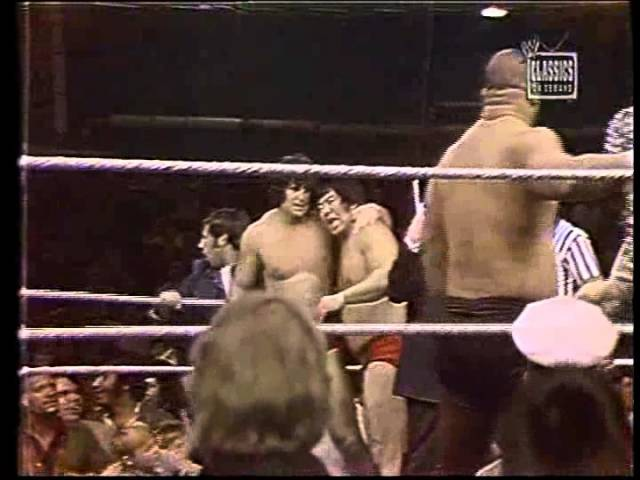 Mr. Fuji and Toru Tanaka 73-77 WWWF