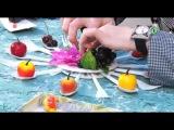 Удиви подарком! МК №64 Настенная композиция из ложек и вилок для кухни своими руками