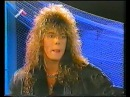 Joey Tempest Interview musicbox 1986 rare stuff