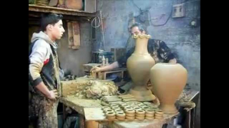 Abdull Salam AlFahuri - Traditional Palestinian Pottery - AlHalil (Hebron)