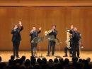 Gomalan Brass Quintet - Triumphal March Aida LIVE IN TOKYO