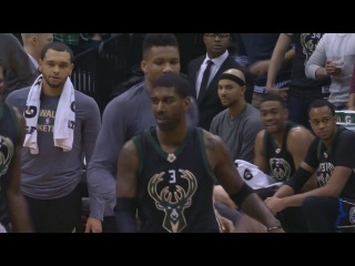 OJ Mayo Argues With the Ref & Gets Ejected | Bucks vs Timberwolves | Jan 2, 2016 | NBA