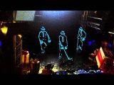 Световое шоу Джексонов от Русский Hollywood. Выступление в Подольске
