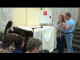 Баджан «Ананда Рупам» на лекции Андрея Лапина