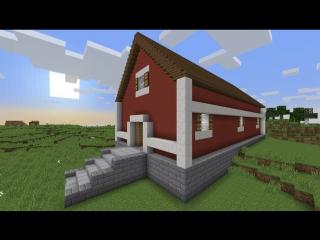 Большая ферма в майнкрафт за 20 минут - MInecraft - Майнкрафт карта