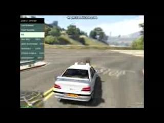 GTA 5 Mods - TAXI (Тачка из фильма Такси 1,2,3)_low
