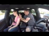 Семейная поездка на автопилоте Tesla - 640x480