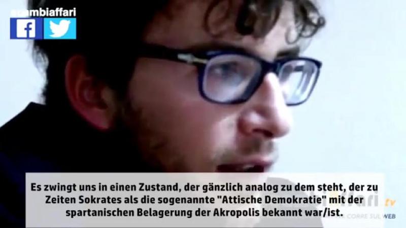 Diego Fusaro Raus aus der NATO und dem Euro
