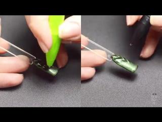 Дизайны магнитными ручками