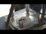 Spark plug flying off moped's transparent head! - Mopon l