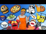 Food Song Learn 15 Food and Drinks Learn English Kids