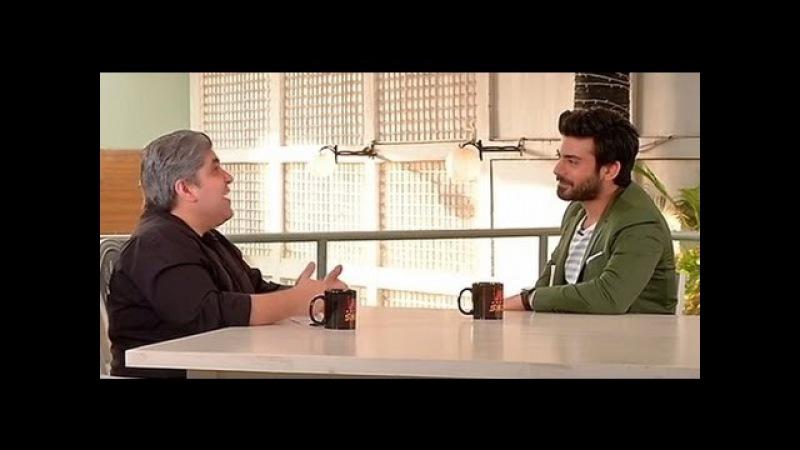 Фавад Кхан на интервью (2016г)
